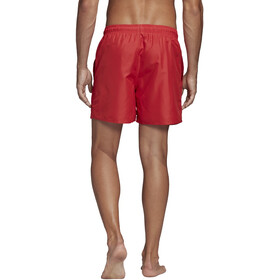 adidas Solid CLX SH SL Shorts Hombre, glory red